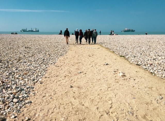 Strandspaziergang in Le Havre