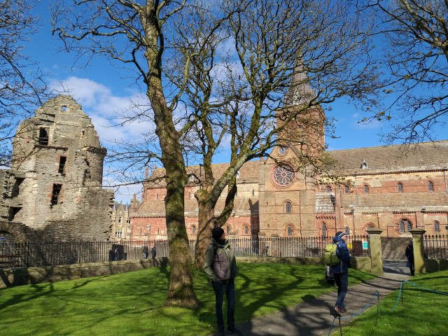 St. Magnus und Earl´s Palace in Kirkwall