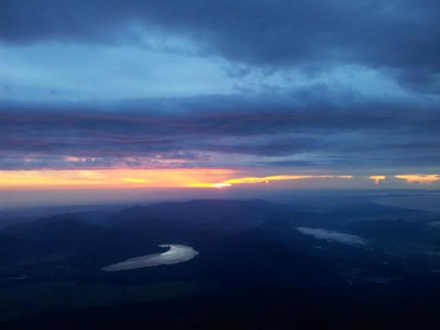 Kurz vorm Sonnenaufgang