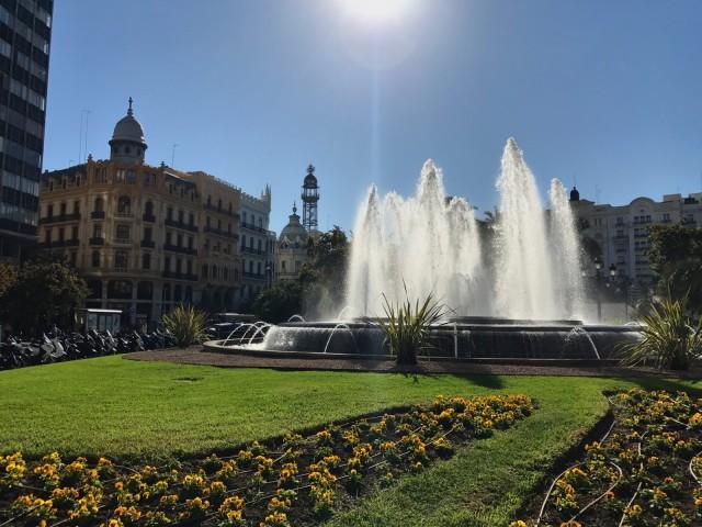 Placa del Ajutament - Valencia