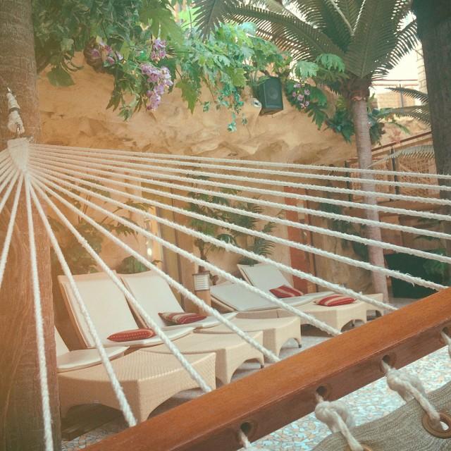 Entspannung in der Wellness-Oase