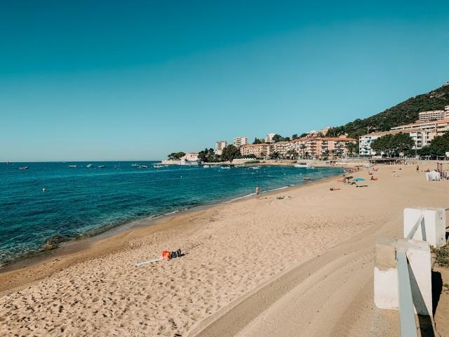Strand Ajaccio