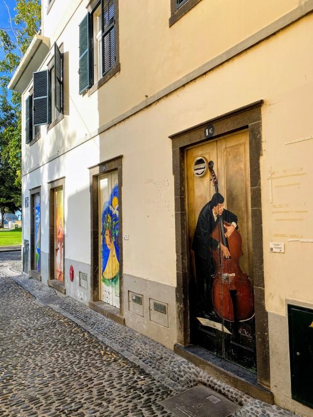 Kunstprojekt auf Madeira