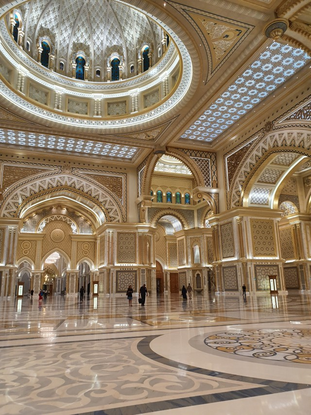 Halle im Qasr Al Watan