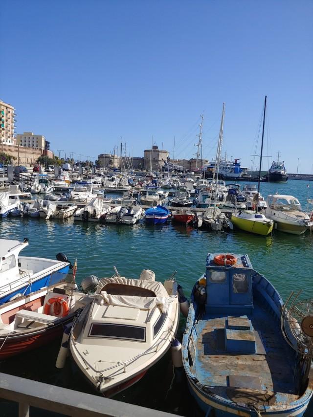 Fischerhafen in Civitavecchia