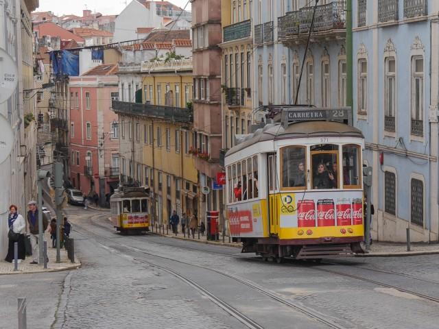 "Die ""Carreira 28 dos Eléctricos de Lisboa"" zählt zu den berühmtesten Straßenbahnlinien der Welt."