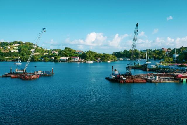 Der Hafen von Bridgetown
