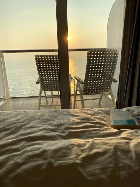 Entspannung auf der Kabine