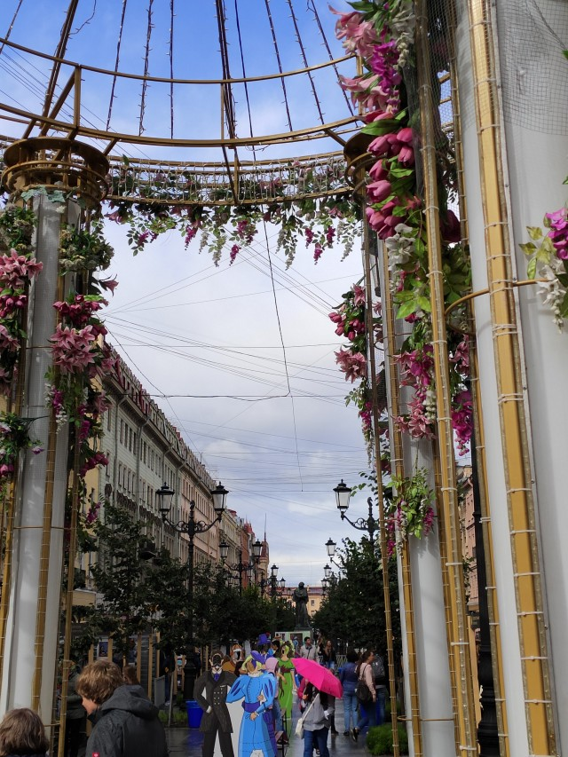 Blumen in St. Petersburg