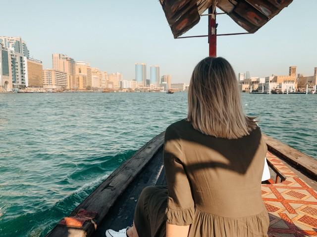 Dubai Creek Bootsfahrt