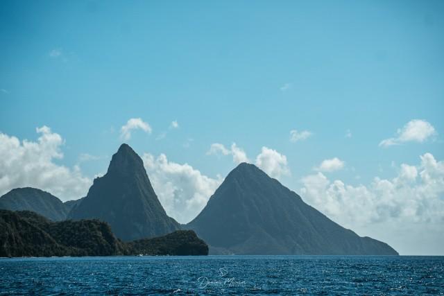 Vulkanisches Erbe auf St.Lucia