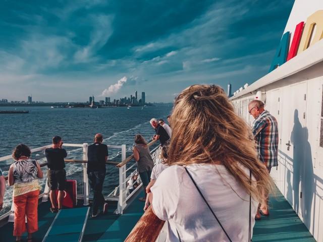 Blick auf New York