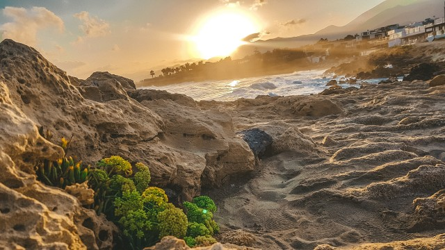 Sonneuntergang in Kreta