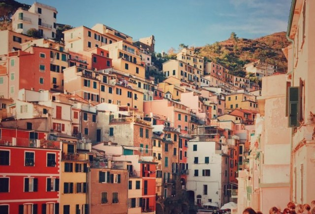 Italienischen Riviera.