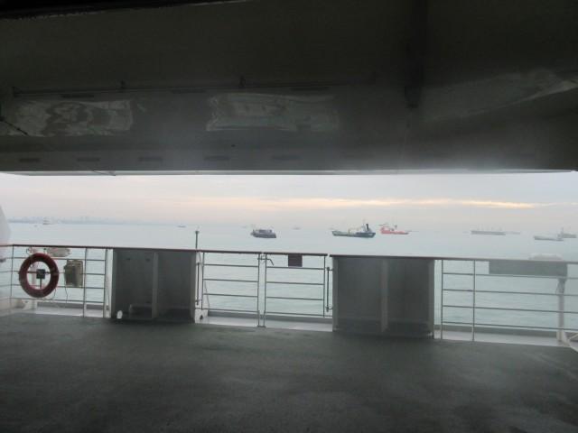 Auch auf dem Meer gibt es Stau