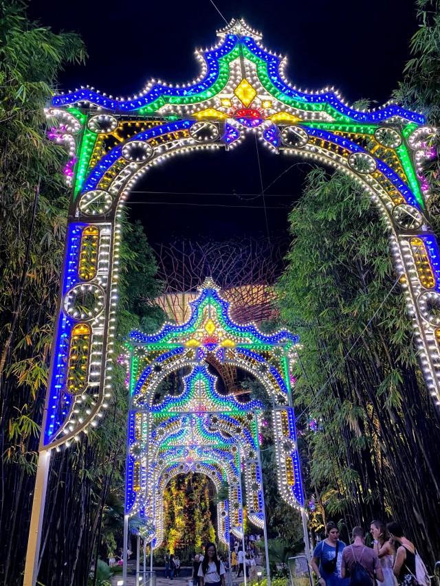 Weihnachtszeit in Singapur