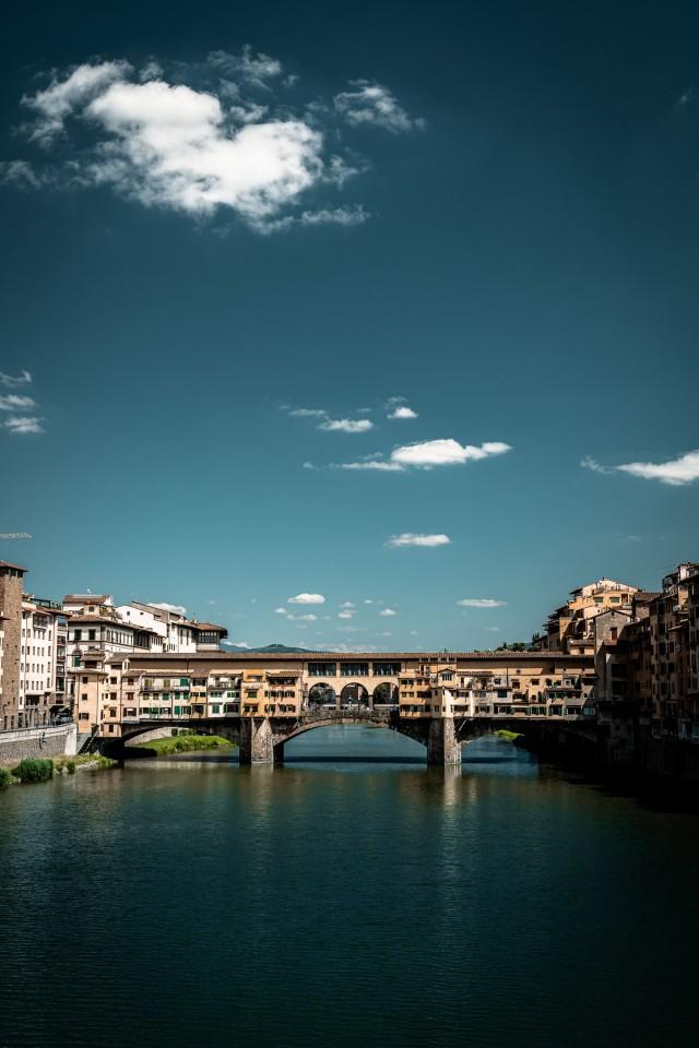 Ponte Vecchio - Die bebaute Brücke