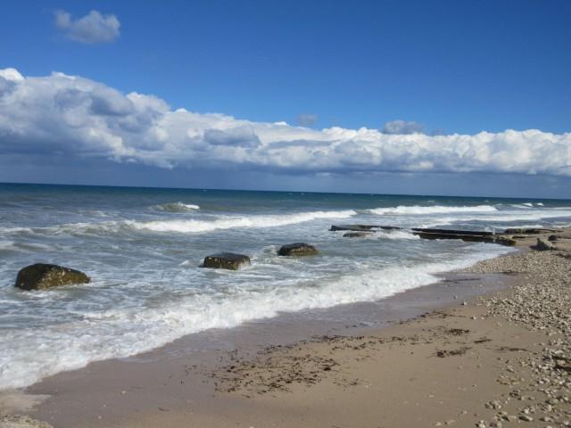 Obligatorischer Strandstopp
