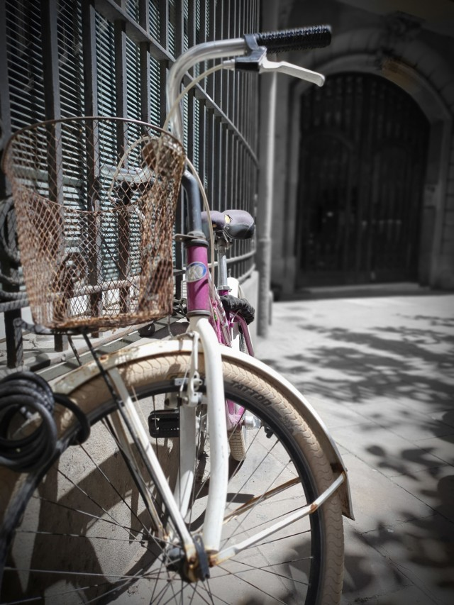 Fahrradtour durch Barcelona
