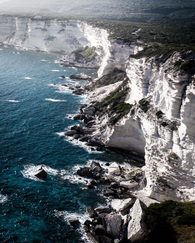 Steilküste vor Bonifacio