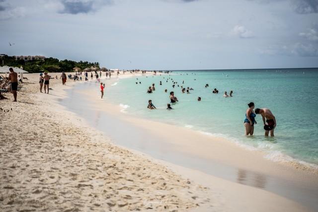 Baden in der Karibik