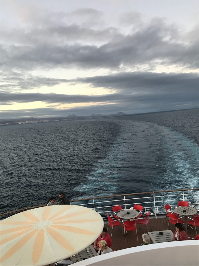 Auf dem Weg nach Teneriffa