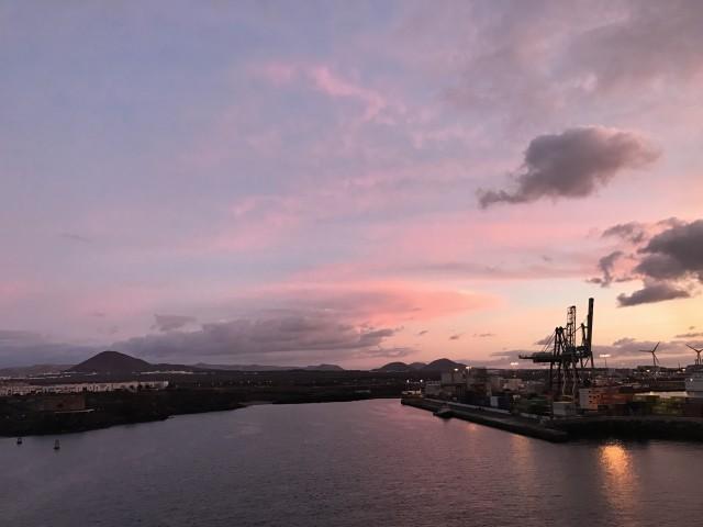 Sonnenaufgang vor Arrecife 2