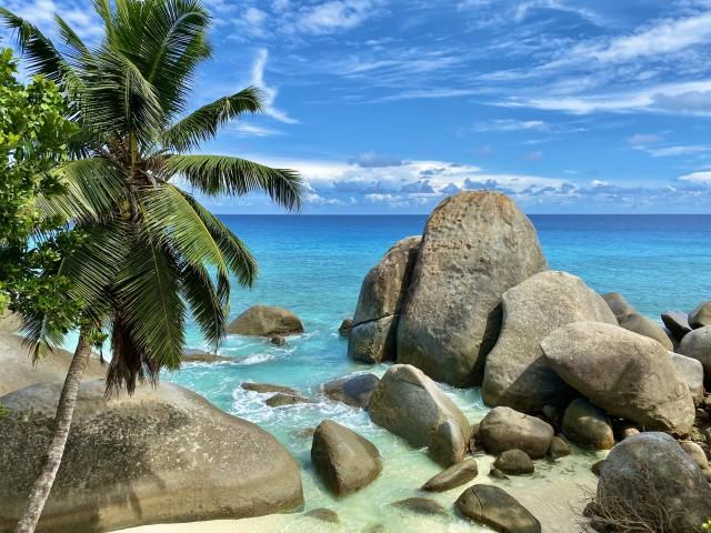 Traumhafte Kulisse auf den Seychellen