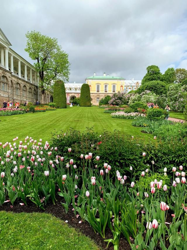 Die Gärten des Katharinenpalastes