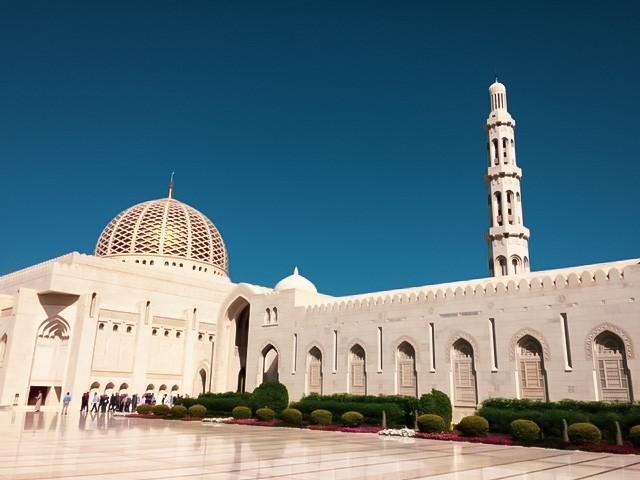 Die  Große Sultan-Qabus-Moschee