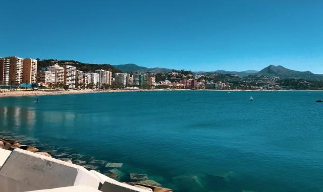 Bademöglichkeit in Málaga