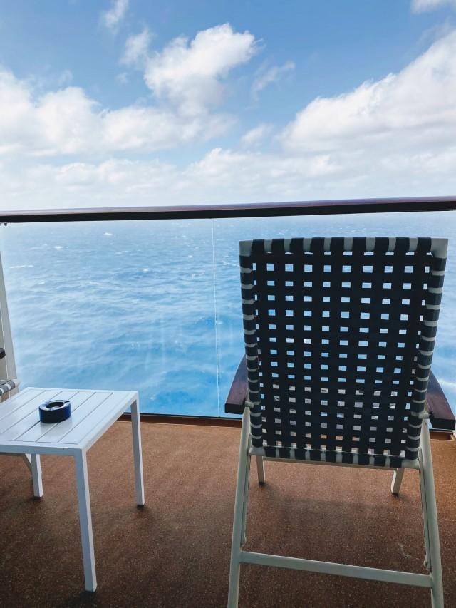 Balkonien auf hoher See
