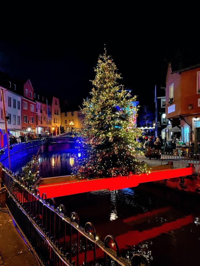 Der Saarburger Weihnachtsbaum