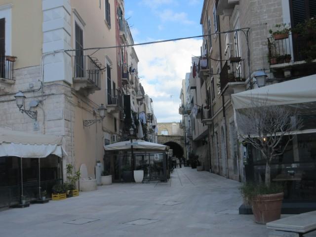 Angekommen in Bari Stadt