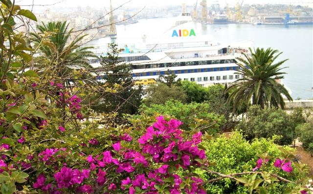 Mit AIDAvita auf Malta