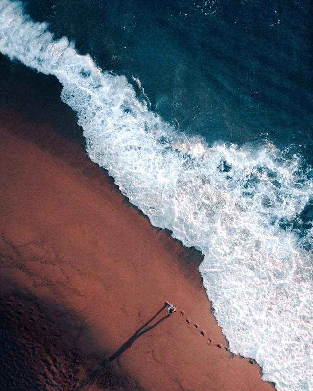 Sonnenuntergang im Meeresrauschen