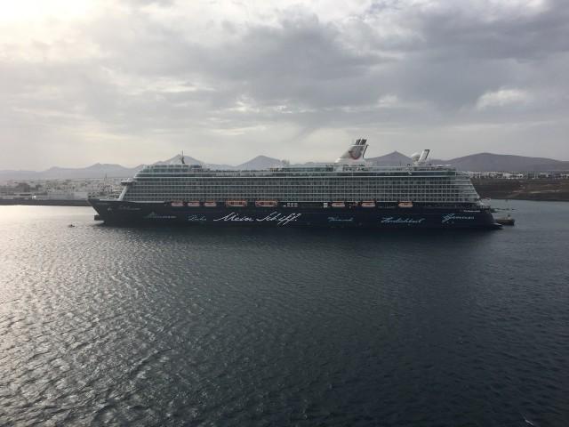 Mein Schiff 4 in Lanzarote