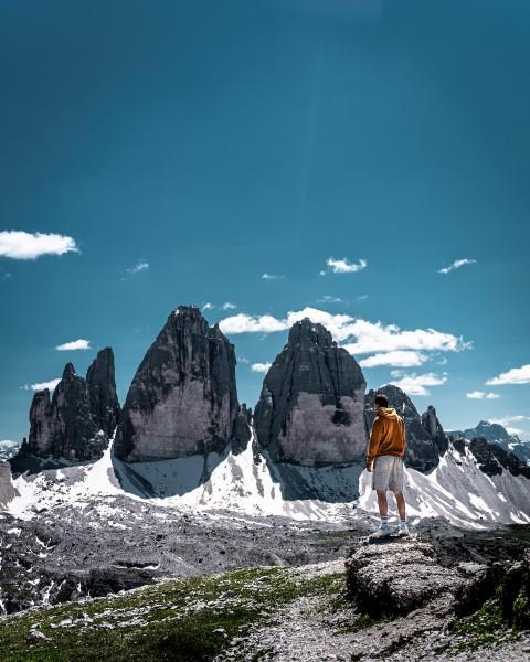 Aussicht auf die Dolomiten