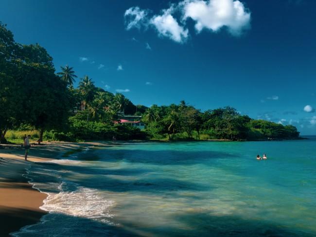 Ein schöner Strand folgt dem nächsten...