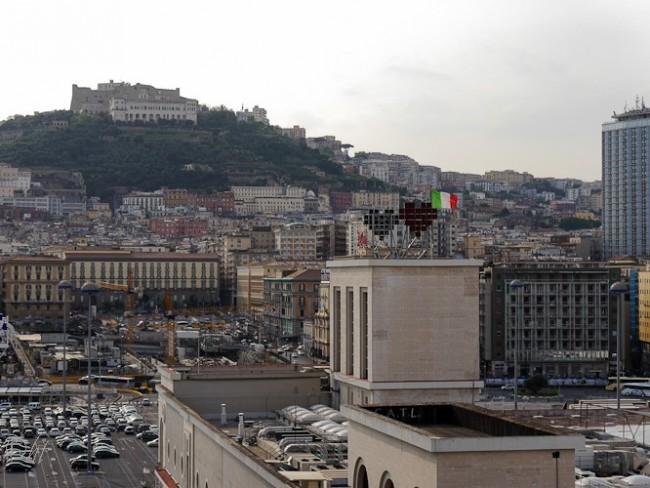 Ankunft in Neapel