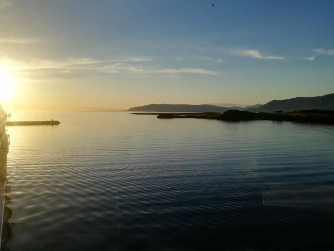 Sonnenuntergang Lerwick