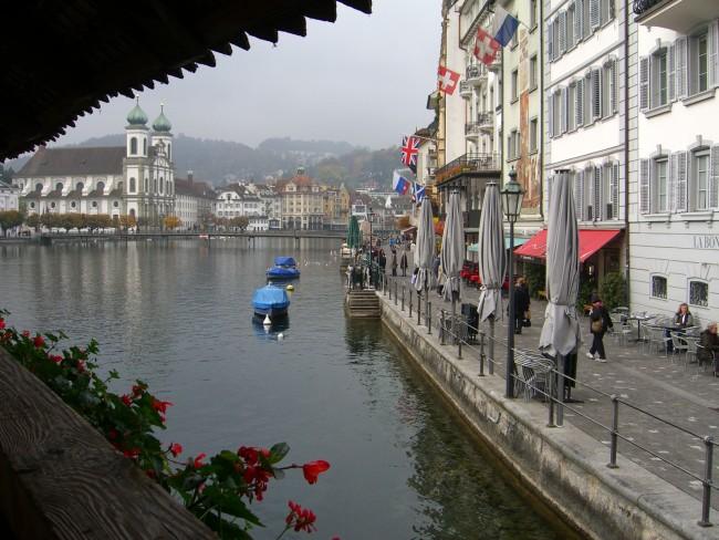 Herbstliches Luzern