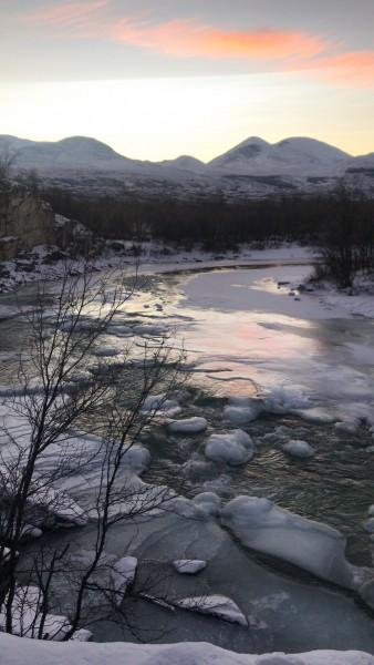 Abisko im Winter