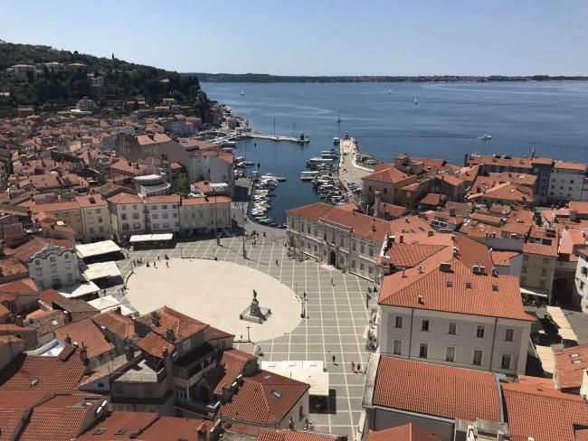 Glockenturm Piran