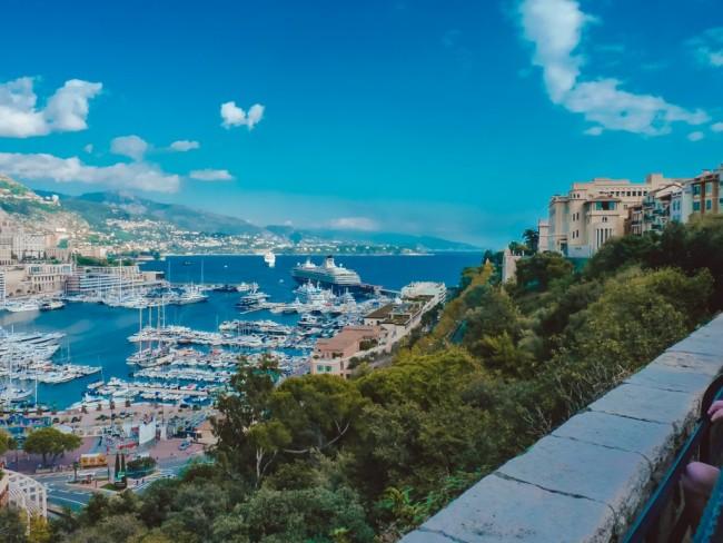 Aussicht auf Monte-Carlo