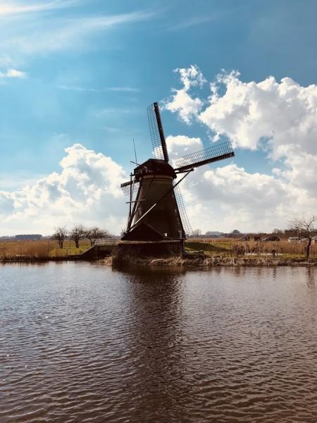 Von Rotterdam nach Kinderdijk