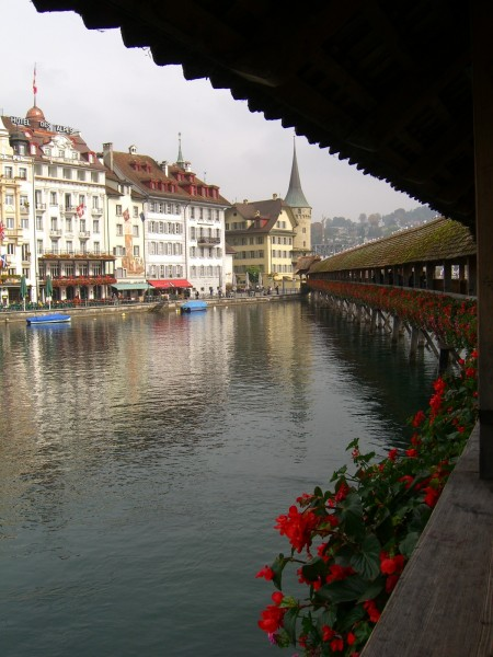 Luzerns historische Kapellbrücke