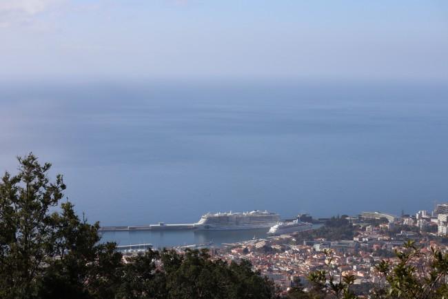 Aida  Nova im Hafen von Funchal