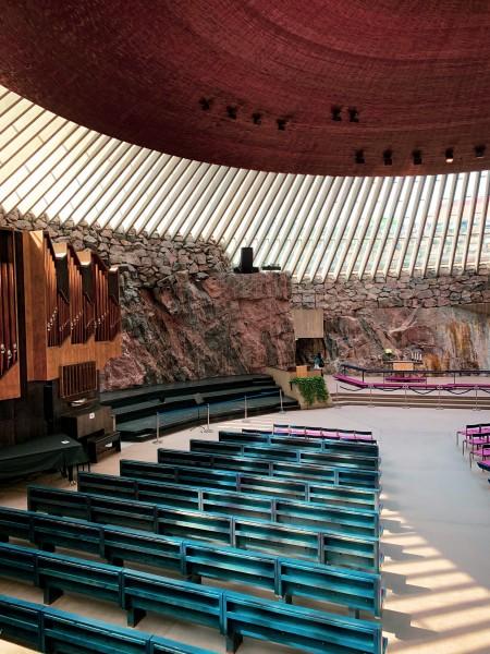 Die Temppeliaukio-Kirche